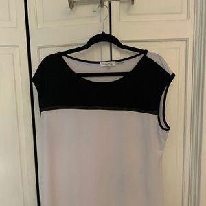 Calvin Klein Black & White Top